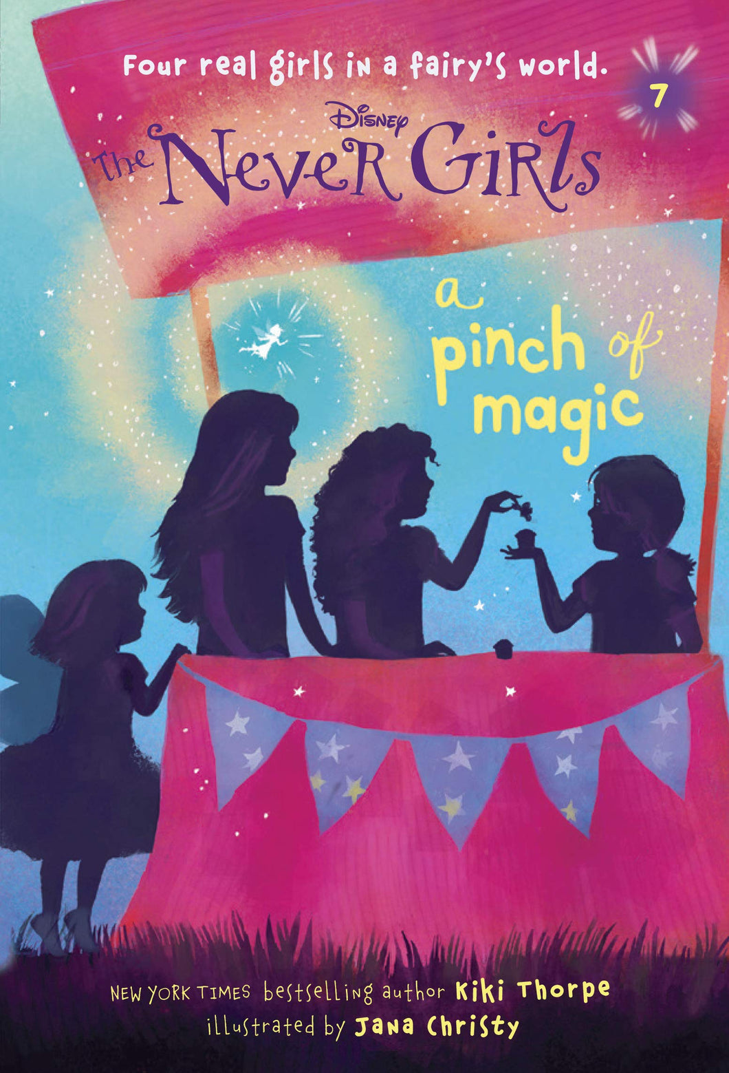 Never Girls #7: A Pinch of Magic