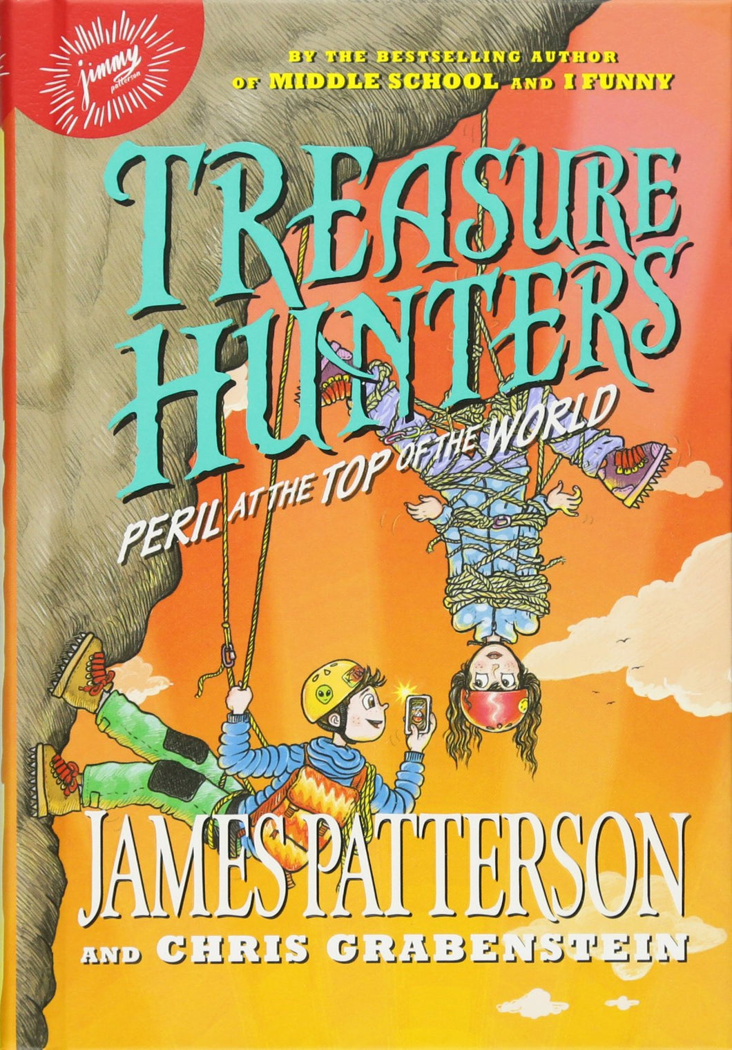 Treasure Hunters: Peril at the Top of the World (Book 4)