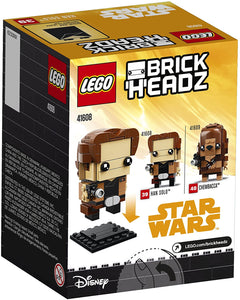 LEGO® BrickHeadz 41608 Star Wars™ Han Solo (141 pieces)