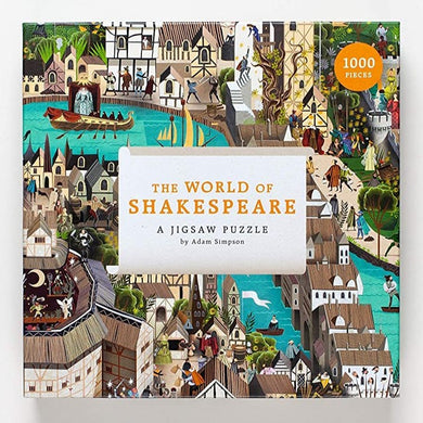 The World of Shakespeare Puzzle (1000 pieces)