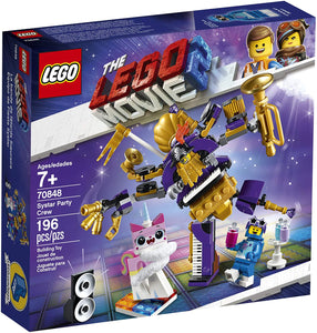 LEGO® 70848 The LEGO Movie 2 Systar Party Crew (196 pieces)