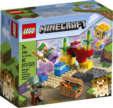 LEGO® Minecraft 21164 The Coral Reef (92 pieces)