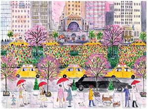 Spring on Park Avenue Puzzle (1000 pieces)