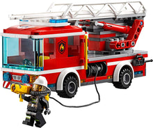 Load image into Gallery viewer, LEGO® CITY 60107 Fire Ladder Truck (214 pieces)