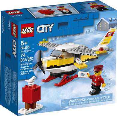 LEGO® CITY 60250 Mail Plane (74 pieces)