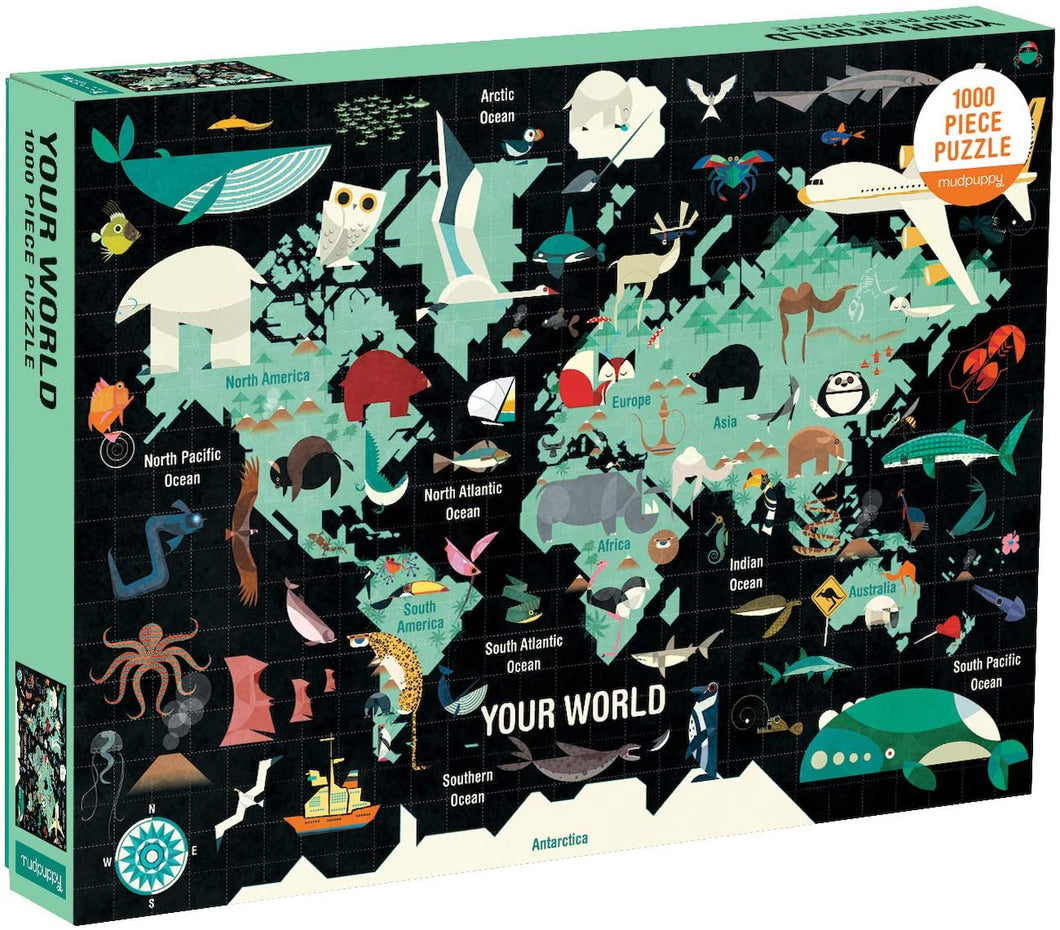 Your World Puzzle (1000 Pieces)