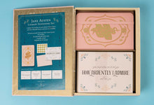 Load image into Gallery viewer, Jane Austen Deluxe Note Card Set (With Keepsake Book Box)