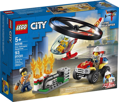 LEGO® CITY 60248 Fire Helicopter Response (93 pieces)