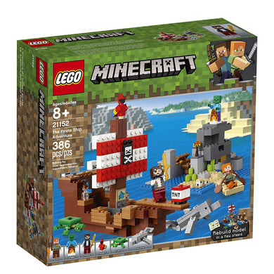 LEGO® Minecraft 21152 The The Pirate Ship Adventure (386 pieces)