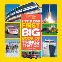 Load image into Gallery viewer, Little Kids First Big Book of Things That Go