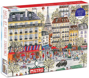 Paris Puzzle (1,000 pieces)