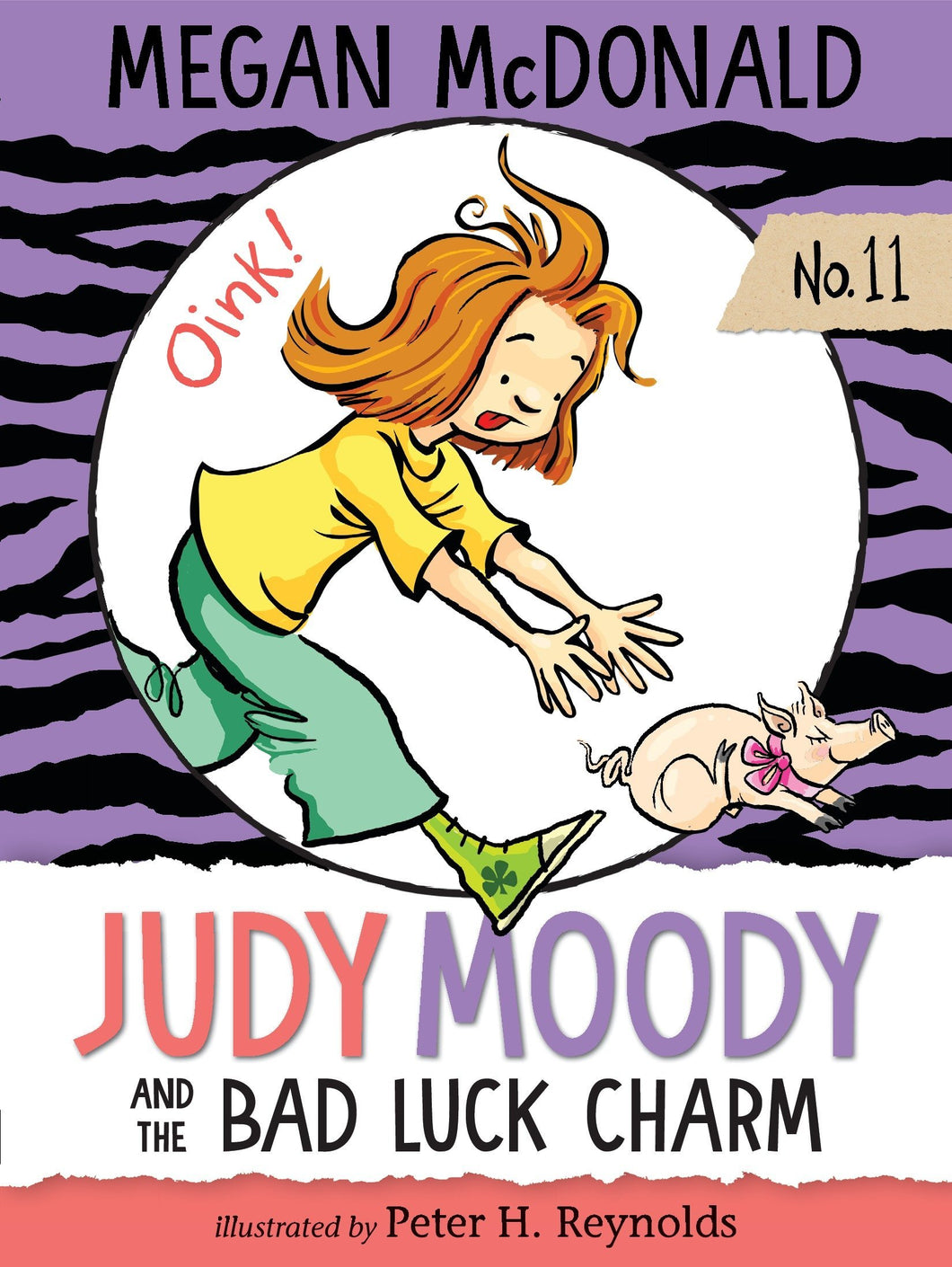 Judy Moody and the Bad Luck Charm (Book 11)