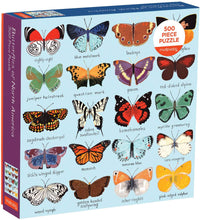 Load image into Gallery viewer, Butterflies of North America Family Jigsaw Puzzle (500 pieces)