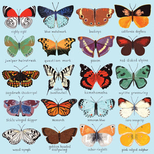 Butterflies of North America Family Jigsaw Puzzle (500 pieces)
