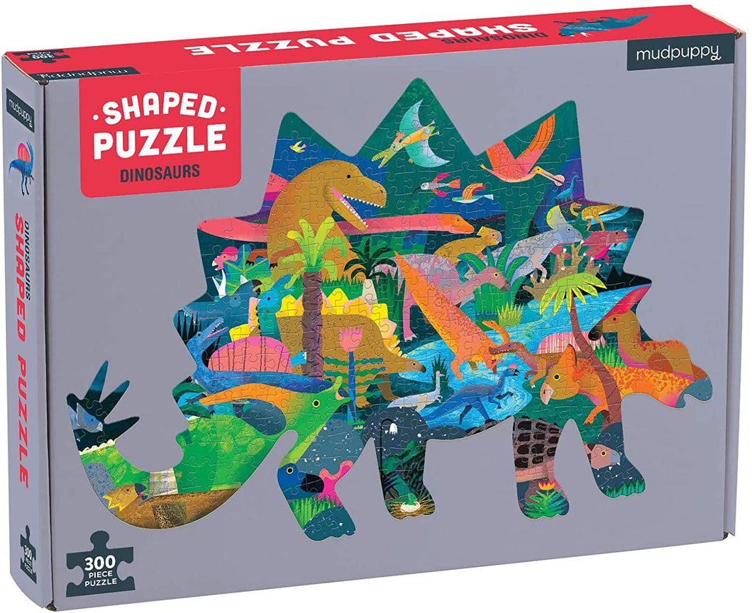Dinosaur Shaped Puzzle (300 pieces)