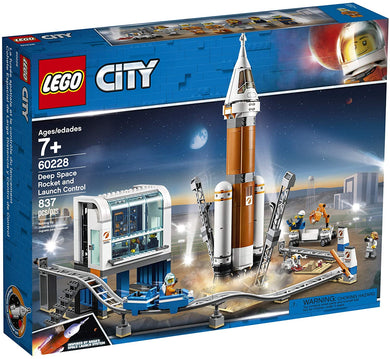 LEGO® CITY 60228 Deep Space Rocket and Launch Control (837 pieces)
