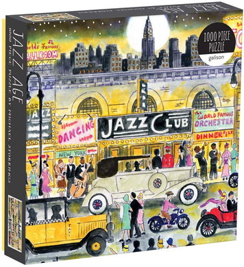 Jazz Age Jigsaw Puzzle (1000 pieces)