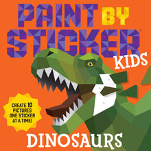 Load image into Gallery viewer, Paint by Sticker Kids: Dinosaurs