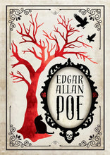 Load image into Gallery viewer, Edgar Allan Poe Deluxe Note Card Set (With Keepsake Book Box)