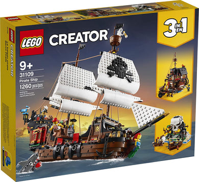 LEGO® Creator 31109 Pirate Ship (1,260 pieces)