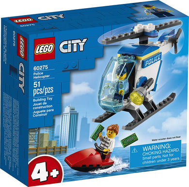LEGO® CITY 60275 Police Helicopter (51 pieces)