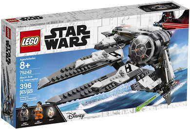 LEGO® Star Wars™ 75242 Black Ace TIE Interceptor (396 pieces)