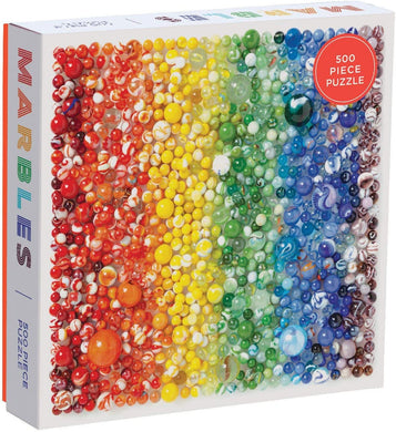 Rainbow Marbles Puzzle (500 pieces)