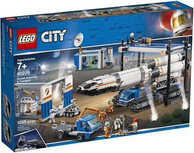 LEGO® CITY 60229 Rocket Assembly & Transport (1055 pieces)