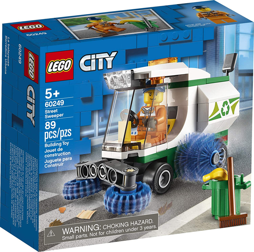 LEGO® CITY 60249 Street Sweeper (89 pieces)