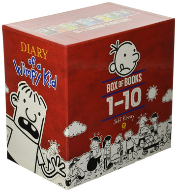 Diary of a Wimpy Kid Boxed Set (Books 1-10)