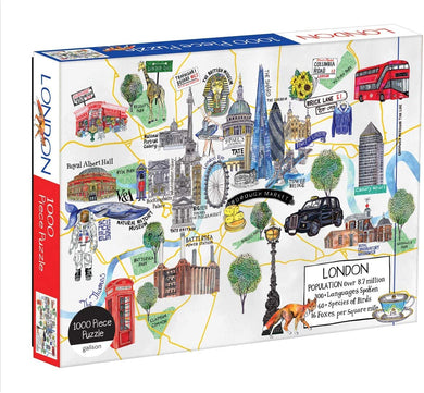 London Map Puzzle (1000 pieces)