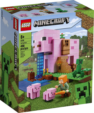 LEGO® Minecraft 21170 The Pig House (490 pieces)