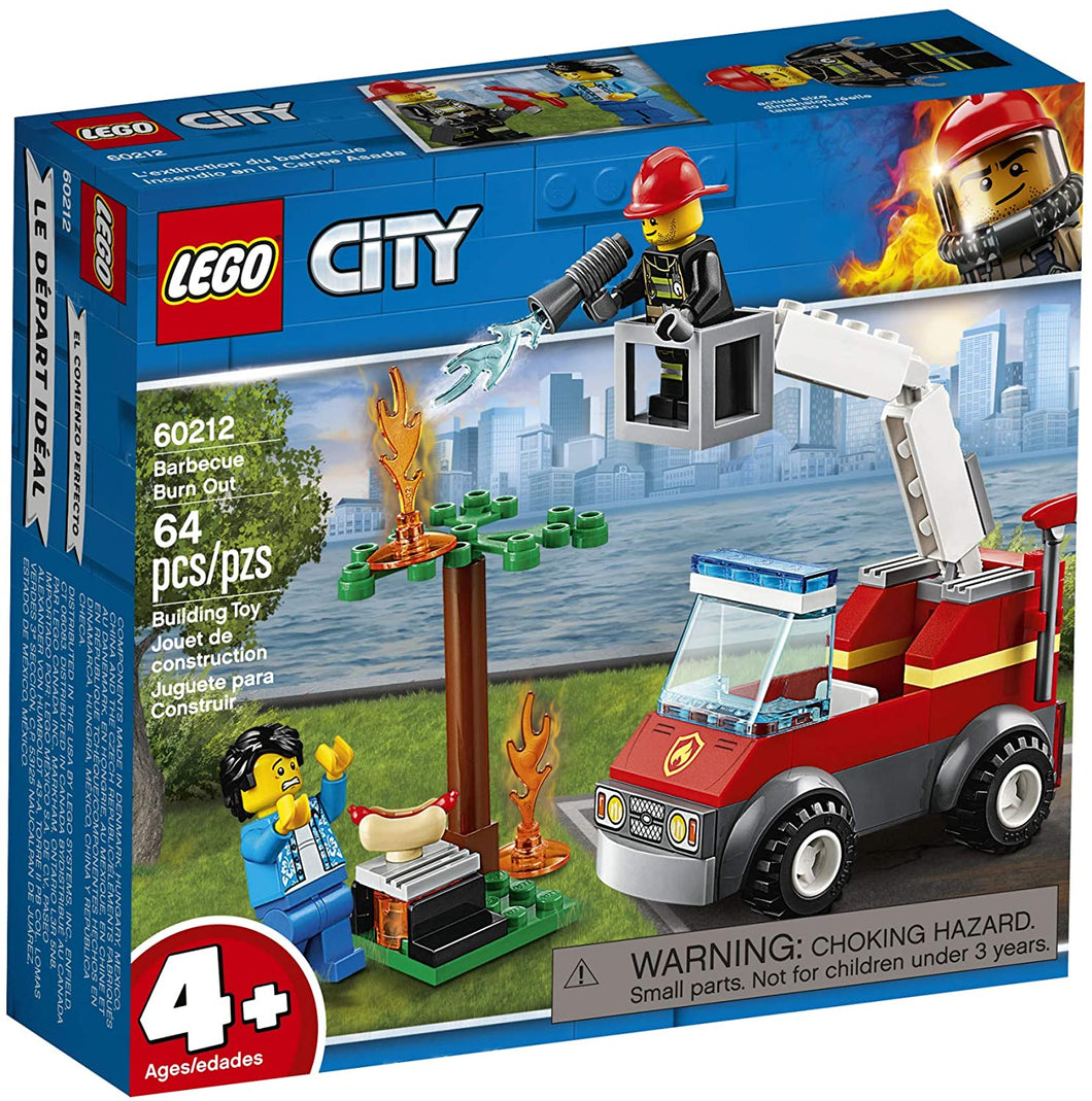 LEGO® CITY 60212 Barbecue Burn Out (64 pieces)