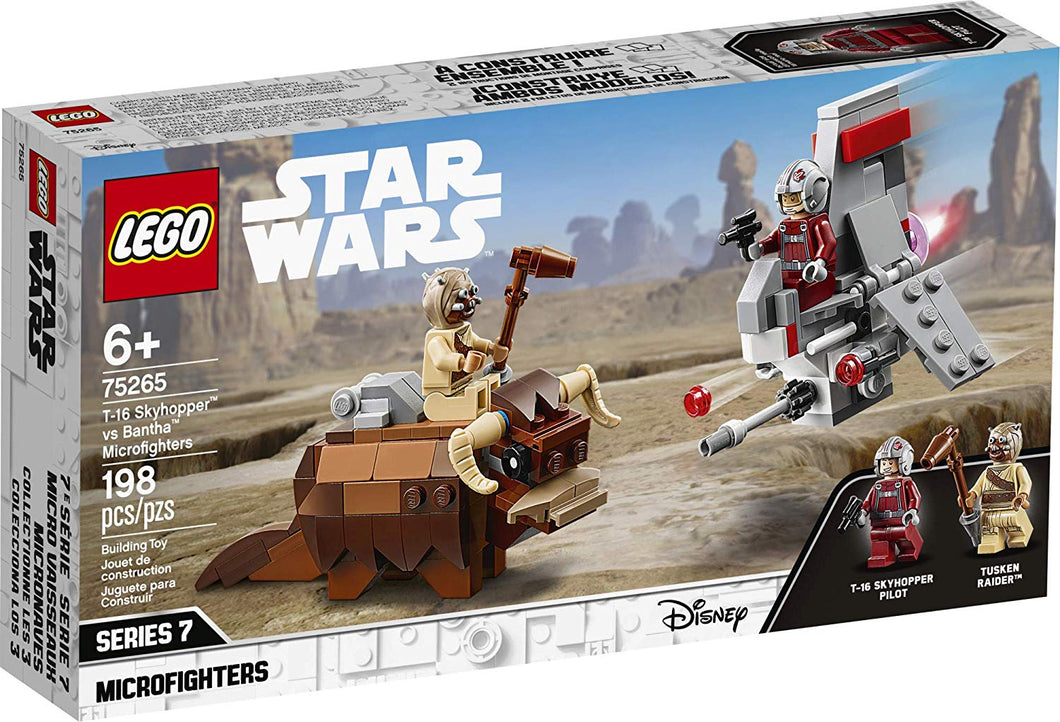 LEGO® Star Wars™ 75265 T-16 Skyhopper vs Bantha Microfighters (198 pieces)