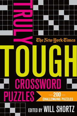 he New York Times Truly Tough Crossword Puzzles