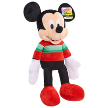 "Load image into Gallery viewer, Mickey Mouse 2018 Holiday Plush (22"")"