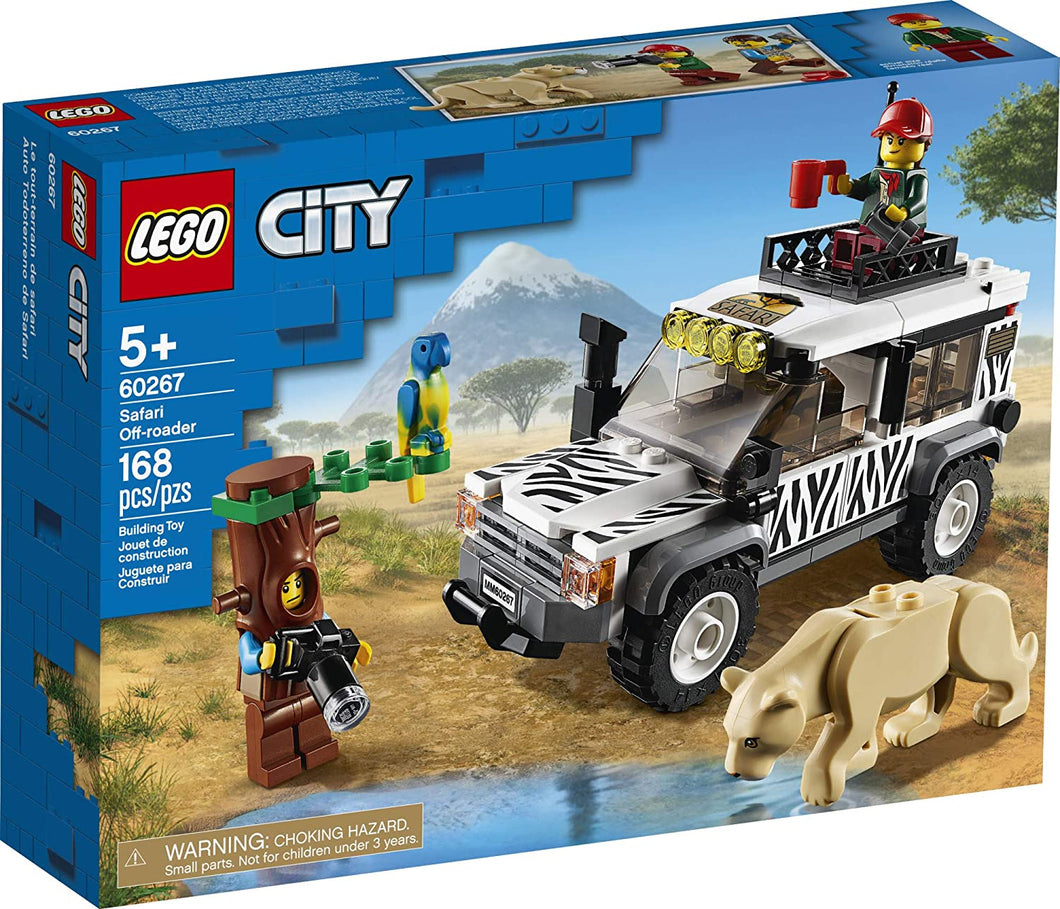 LEGO® CITY 60267 Safari Off-roader (168 pieces)