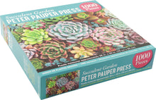 Load image into Gallery viewer, Succulent Garden Jigsaw Puzzle (1000 pieces)