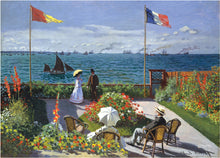Load image into Gallery viewer, Garden at Sainte-Adresse Jigsaw Puzzle (1000 pieces)