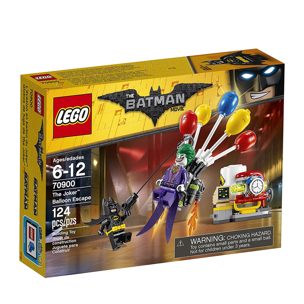 LEGO® THE BATMAN MOVIE 70900 Joker Balloon Escape (124 pieces)