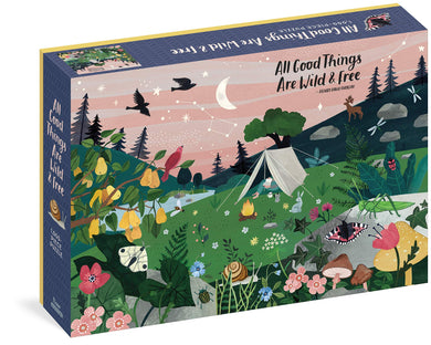 All Good Things are Wild and Free Puzzle (1000 pieces)
