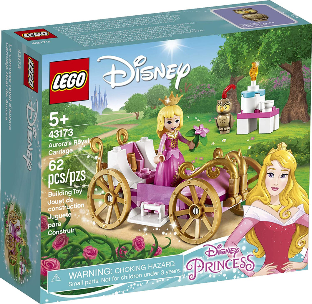 LEGO® Disney 43173 Aurora's Royal Carriage (62 pieces)