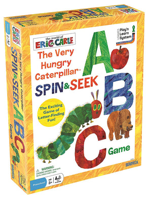 The World of Eric Carle: The Very Hungry Caterpillar Spin & Seek ABC Game