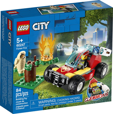 LEGO® CITY 60247 Forest Fire (84 pieces)