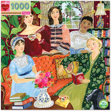 Jane Austen's Book Club Jigsaw Puzzle (1000 pieces)
