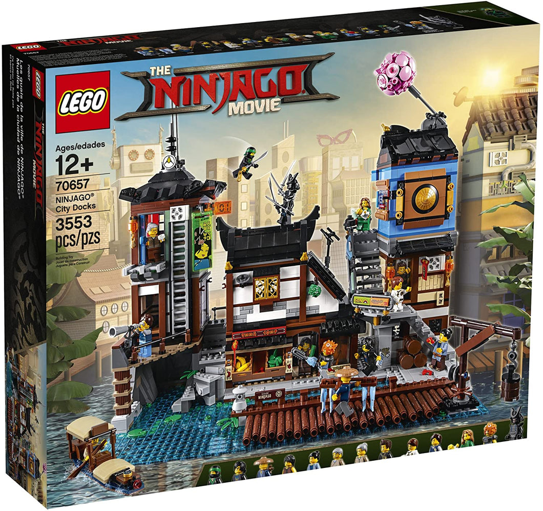 LEGO® Ninjago 70657 Ninjago City Docks (3553 pieces)