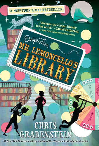 Escape from Mr. Lemoncello's Library (Book 1)