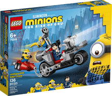 Load image into Gallery viewer, LEGO® Minions 75549 Unstoppable Bike Chase (136 pieces)