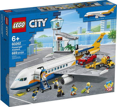 LEGO® CITY 60262 Passenger Airplane (669 pieces)