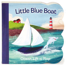 Load image into Gallery viewer, Little Blue Boat: Lift-a-Flap Board Book